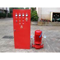 上海江洋建筑用恒压切线泵XBD17.6/10-65DLL*6消防多级泵型号
