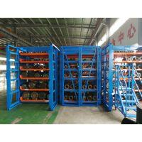 北京轴承专用货架类型 伸缩抽屉式货架价格 重型仓储图片