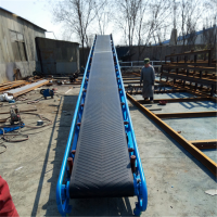 兴亚供应连续式爬坡输送机 皮带输送机设计图纸