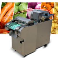 仿手工蔬菜切菜器 商用学校食堂厨房电动切菜机 乐丰牌