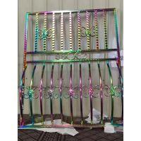 304不锈钢装饰 管 七彩 玫瑰金 螺纹管
