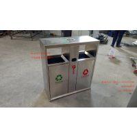 定制不锈钢垃圾桶 全国物流发货 小区分类垃圾桶