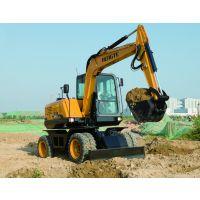轮式挖掘机,恒特挖掘机,HT75W轮挖