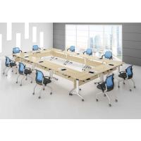 麦德嘉MDJ-PXZ02D多功能可折叠桌子带滑轮培训桌 可拼接板式会议桌