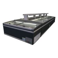 供应格琳凯斯KSWD-18ST商用超市卧式冷冻冷藏两用组合岛柜