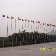 金聚进 苏州吴江染料化工厂不锈钢旗杆 吴江室外锥形旗杆