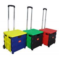 生产批发 便携式购物篮 折叠购物篮 便携式购物车 折叠购物车