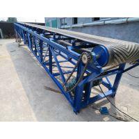 生产小型皮带机 车站装车输送机 润华 大型皮带输送机