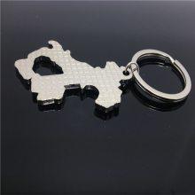 烤漆金属钥匙扣 定制创意钥匙扣 卡通镶钻金属钥匙链挂件