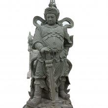 西方三圣站像石雕像|阿弥陀佛石雕像|高工艺花岗岩滴水观音石材雕像