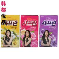 韩国进口正品 LG思美兰柔顺剂 香纸 正品纸抽式柔顺纸