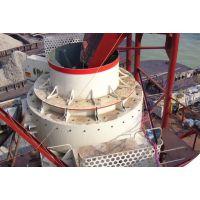 采用两段式生产模式,冲击式制砂机制砂工艺特点