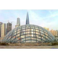 河南远大郑州双曲面中空钢化玻璃幕墙 异形球形玻璃