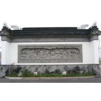 砖雕雕塑仿古装饰壁画手工中式苏州影壁四合院苏州围墙园林照壁