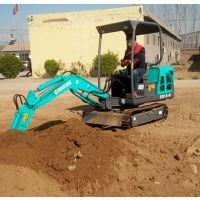 挖山药用的小型挖掘机 吉林长春地区旱厕改造用的微型挖掘机 果园苗圃用的山鼎小挖机