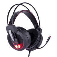 速钛V9-7.1发光振动耳机,USB接口带耳麦,东莞耳机工厂,耳机批发