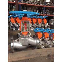 JY41W-16P DN100国标不锈钢氧气截止阀