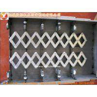 沧州热销维修高频伸缩式不锈钢板导轨防护罩/耐腐蚀防护罩