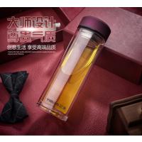 玻璃口杯厂家 双层玻璃杯 礼品杯定制-山东鑫泉玻璃杯业有限公司