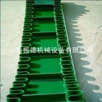 小型爬坡移动皮带式输送机 装卸升降提升输送设备 振德供应
