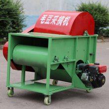 可用于田间地头直接使用的毛豆采摘机 润丰毛豆采收机