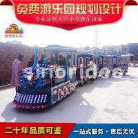 世奇游乐新颖无轨观览火车 户外英式小火车畅销款