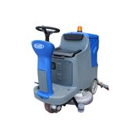 陕西哪里卖驾驶式洗地机 威卓电瓶驾驶式洗地车X7-70