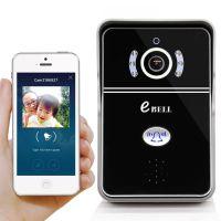 eBELL智能wifi无线远程可视对讲门铃 别墅防盗监控网络摄像头 手机远程开锁 实时监控
