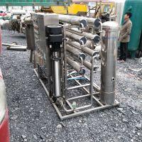 低价九成新反渗透水处理设备 3吨水处理不锈钢