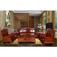 非洲花梨木东阳红木家具明清古典客厅财源滚滚全实木红木沙发组合