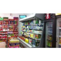 【定做风幕柜饮料展示柜】郑州仟曦专业定做便利店超市冷链