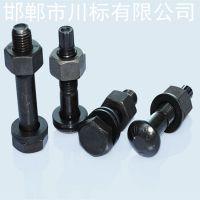 川标紧固件厂家生产 钢结构m20大六角螺栓 高强度外六角螺栓 螺母