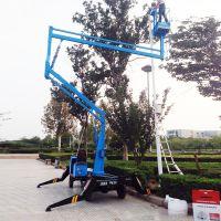12米曲臂式液压高空作业升降平台移动式升降台