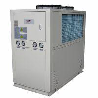 氧化铝 贵金属加工专用工业冷水机组 10P低温风冷式冷水机 冷冻机