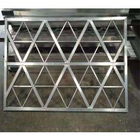 厂家定制多种规格铝窗花屏风 雕刻焊接组合铝屏风
