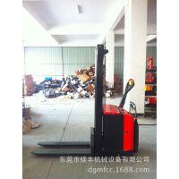 惠州电动升高车 工厂仓库堆货搬货用什么叉车--全电动堆垛叉车