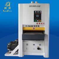 木工自动刨砂机广东拼板板厂一刨两砂刨砂机纯铜国标电机