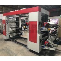 厂家定制 桥式印刷机 层叠式柔印机 四色过桥式印刷机