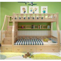 供应【实木儿童床上下床】_儿童双层床_儿童松木双层床