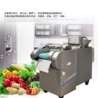 果蔬切丁机 豆皮切丝机 丝瓜切片机价格 富兴批发多功能切菜机