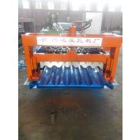 湖南750型全自动彩钢压瓦机彩钢瓦生产设备