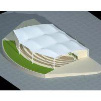 3300平米膜结构建筑|车棚膜结构工程|深圳膜结构厂家|奥鼎膜结构公司