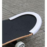 滑板护边橡胶小鱼板U型包边防撞条 滑板车防撞条