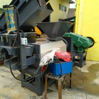 CRSTA处理废尼龙无纺布清洗,无纺布破碎清洗处理设备