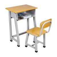 课桌椅|中小学生课桌椅|厂家直销学校辅导班单双人培训桌椅|组合书桌|活动桌