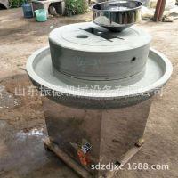 石盘式电动豆浆石磨机 环保型电动石磨 振德牌 米浆家用石磨机