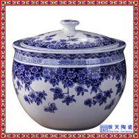 定制复古招财家用陶瓷米缸 防潮咸菜腌肉陶瓷米桶罐
