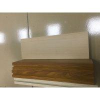 杭州厂家直销 木纹铝方管 u型槽 型材 凹形铝方管
