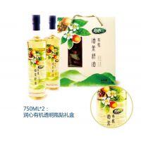润心红花茶油750ML*2 100%纯山茶油 物理压榨 欧盟品质 孕妇宝宝专用油