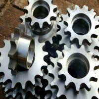 传动链轮 加工定制 输送机配件齿轮 链条传动件 不锈钢链轮